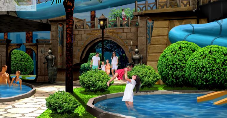[湖北]特色水乐园景观规划初步设计2019_5