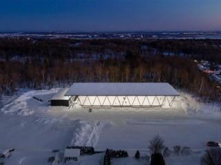 加拿大蓝宝石公园滑冰场
