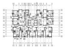 [深圳]32层框架核心筒结构住宅楼施工图2020