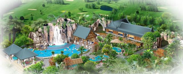 现代旅游度假+休闲娱乐高级温泉度假区规划_1