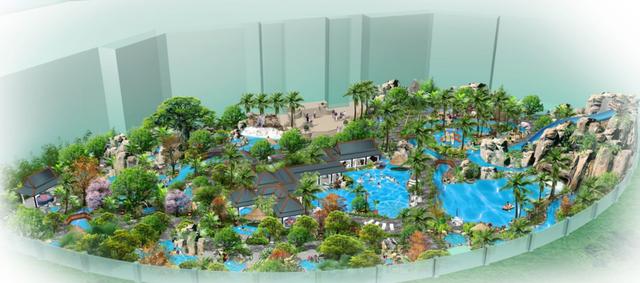 现代旅游度假+休闲娱乐高级温泉度假区规划_3