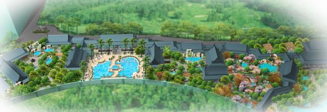 现代旅游度假+休闲娱乐高级温泉度假区规划_5