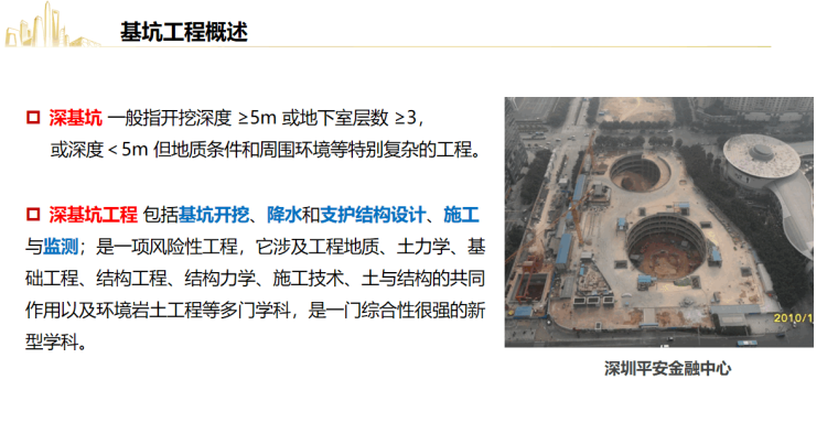 深基坑工程风险管控要点及典型事故剖析2021_9