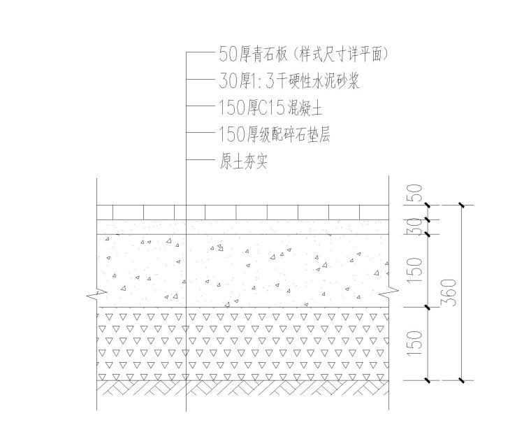 [贵州]农村人居环境整治示范村景观施工图_5