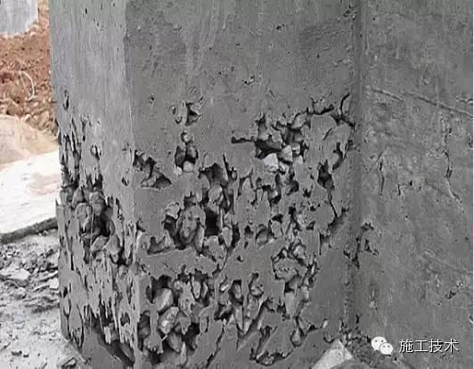 混凝土施工中8大畸形现象的解决办法_2