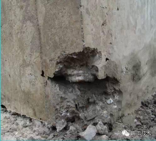 混凝土施工中8大畸形现象的解决办法_5