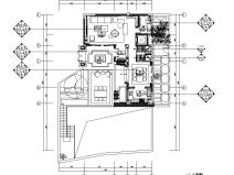 [安徽]合院别墅样板间全套施工图CAD+效果图