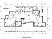 现代豪宅283m²跃层住宅装修深化施工图2020