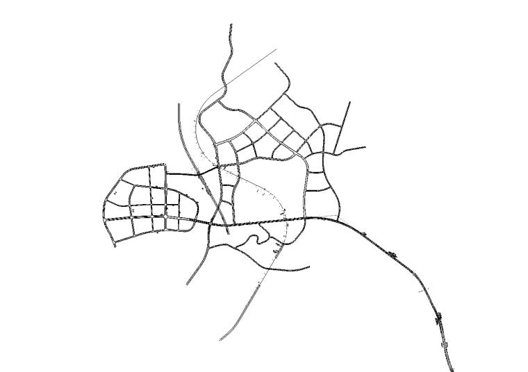 [贵州]城市双向四车道全套7册施工图纸2017_1