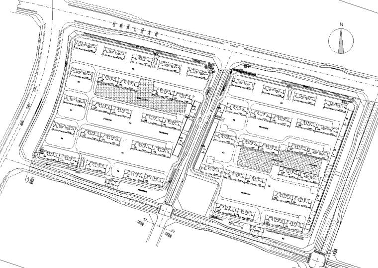 [海南]安置地块周边配套市政道路施工图2021_1