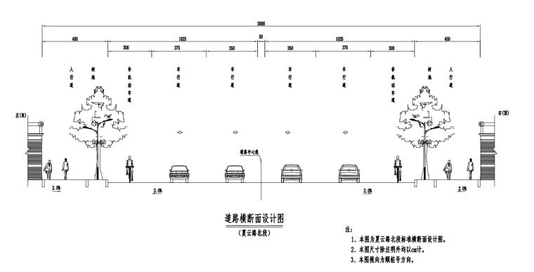 [海南]安置地块周边配套市政道路施工图2021_2