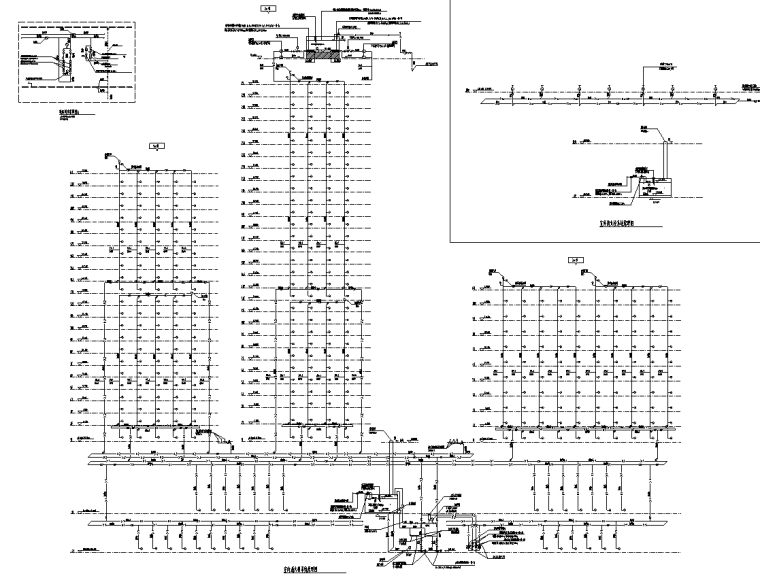 [重庆]大型商业办公配套给排水施工图2020_7