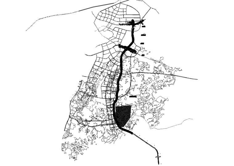 城市道路临时改移工程立交桥及涵洞施工图_1