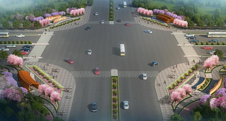 [广州]自然风貌-城市主道路外侧景观方案_6