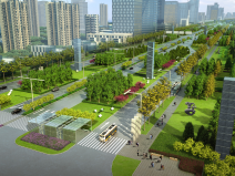 [吉林]生态道路系统及起步区道路景观方案