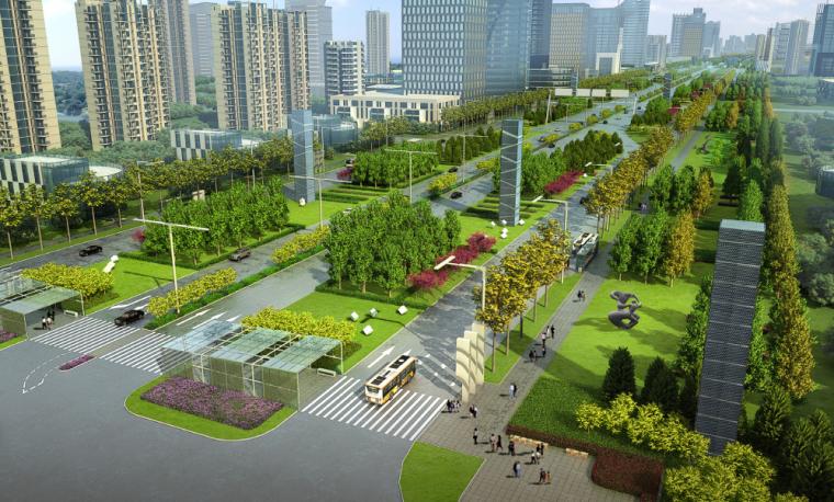 [吉林]生态道路系统及起步区道路景观方案_1