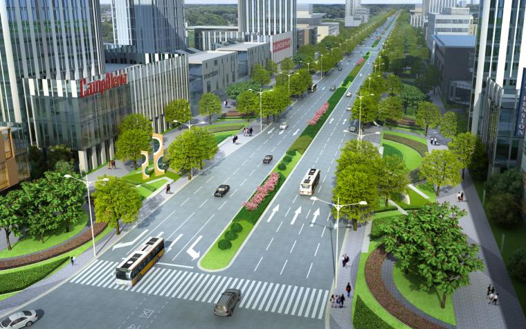 [吉林]生态道路系统及起步区道路景观方案_3