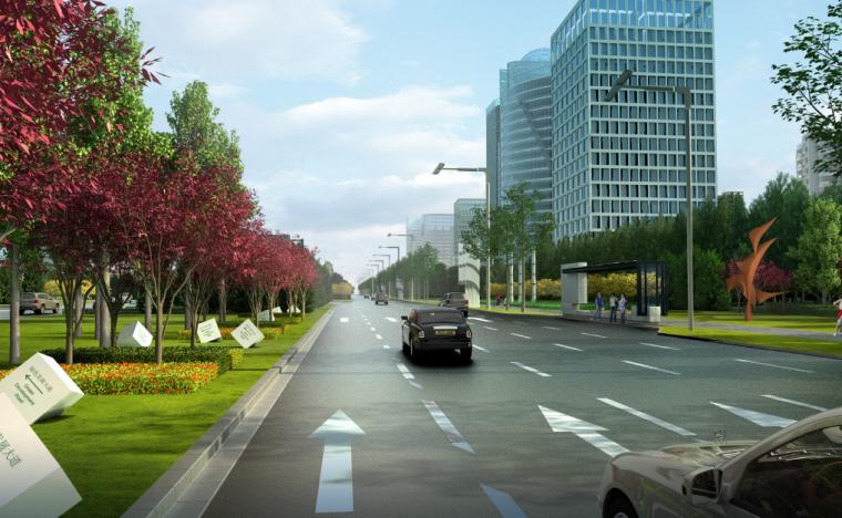 [吉林]生态道路系统及起步区道路景观方案_2