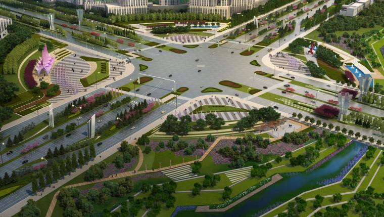 [吉林]生态道路系统及起步区道路景观方案_5
