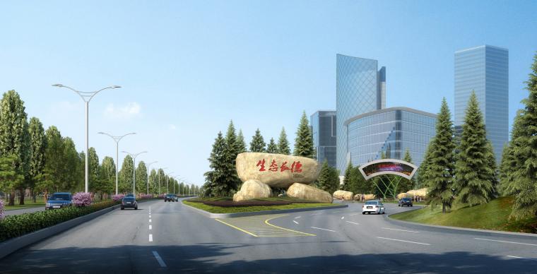 [吉林]生态道路系统及起步区道路景观方案_10