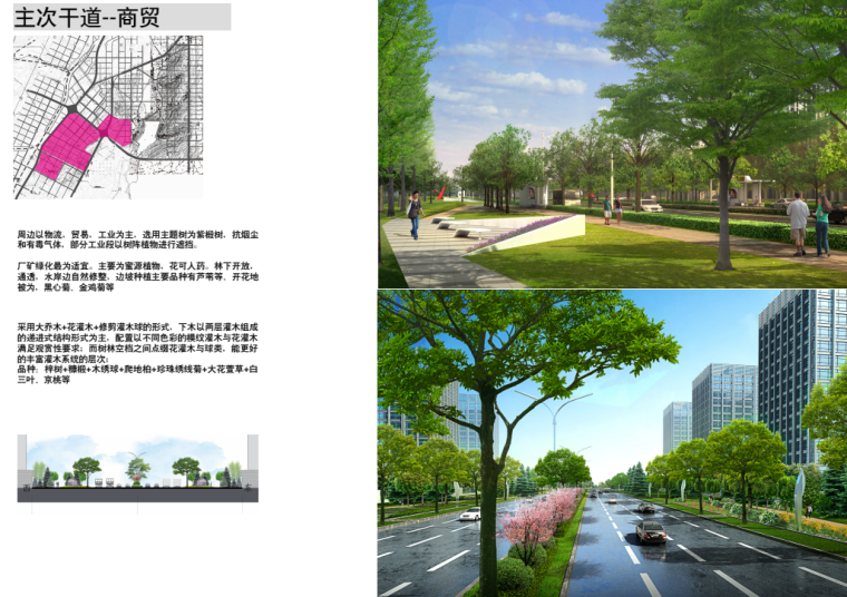 [吉林]生态道路系统及起步区道路景观方案_16