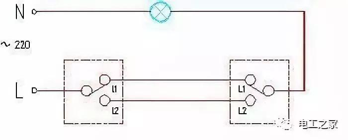 各类开关接线图与实物图!_4