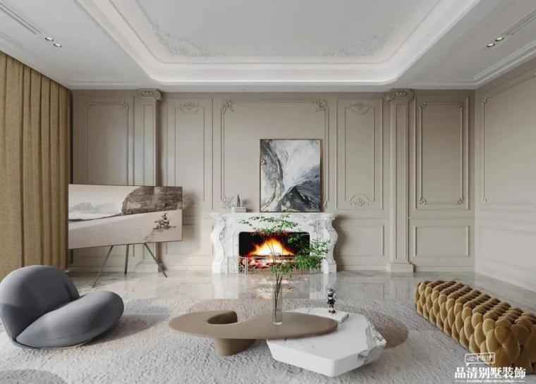 别墅装修|现代美式风格案例赏析_3