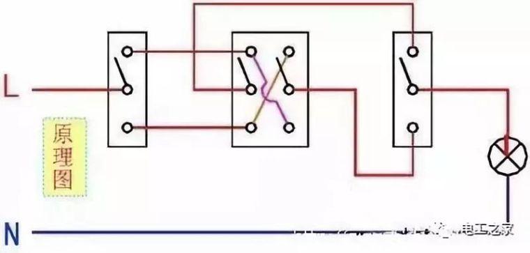各类开关接线图与实物图!_5