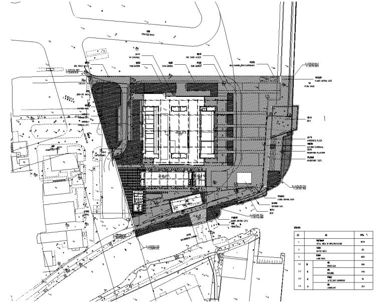 [广东]现代风格展示区中心景观示范段施工图_1