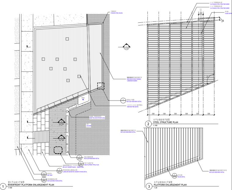 [广东]现代风格展示区中心景观示范段施工图_15