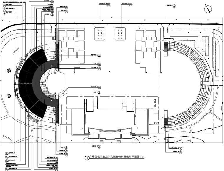 [广东]文化长廊及永久舞台升级改造项目图纸_1