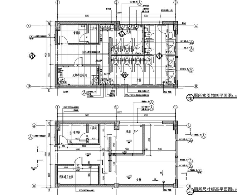 [广东]文化长廊及永久舞台升级改造项目图纸_3