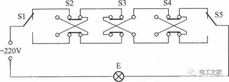 各类开关接线图与实物图!_6