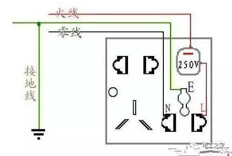 各类开关接线图与实物图!_12
