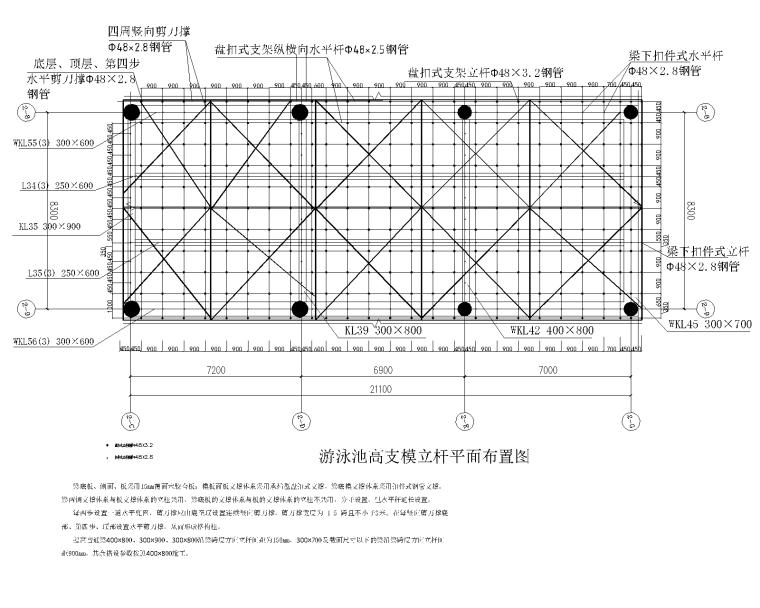 [国企]多功能教学综合体高大模板施工方案_3