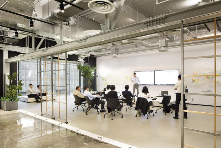 日本IHI横滨工厂新实验大楼内创新中心_13