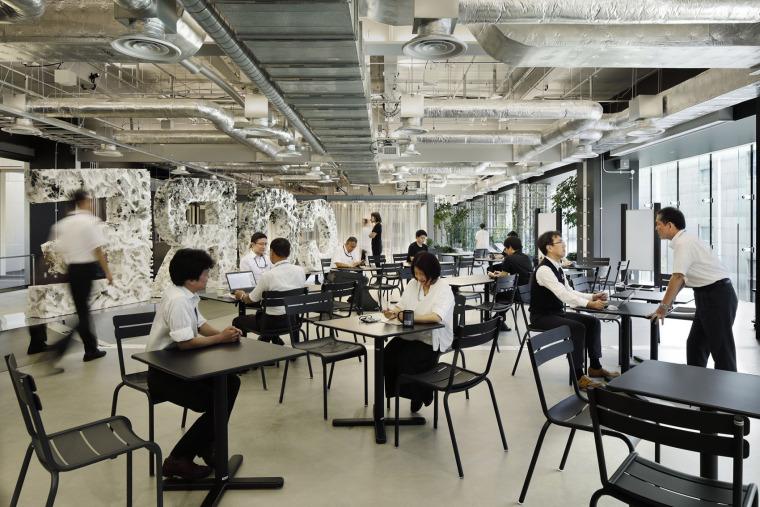 日本IHI横滨工厂新实验大楼内创新中心_11