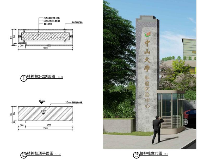 广东现代风大学附属医院园建施工图设计2019_10