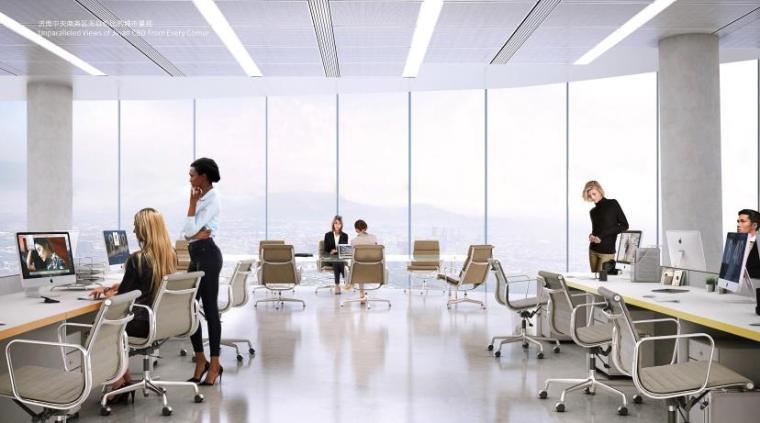 [济南]高层办公+低层商业建筑设计文本2018_5