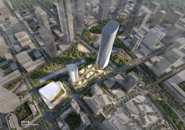 [济南]高层办公+低层商业建筑设计文本2018_2