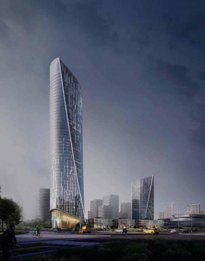 [济南]高层办公+低层商业建筑设计文本2018_8