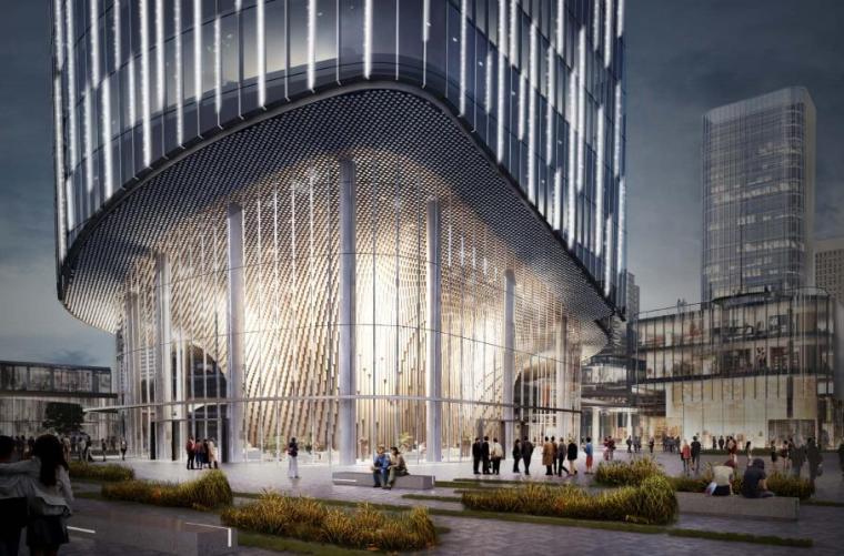 [济南]高层办公+低层商业建筑设计文本2018_11