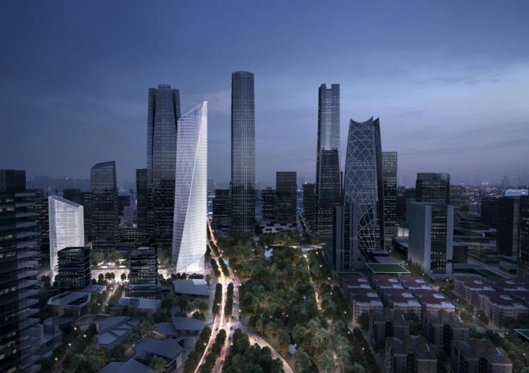 [济南]高层办公+低层商业建筑设计文本2018_18