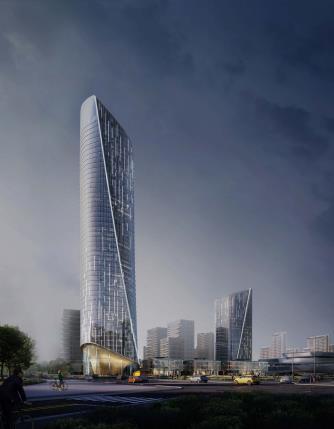 [济南]高层办公+低层商业建筑设计文本2018_17
