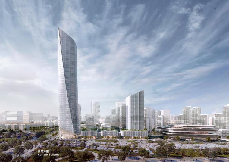 [济南]高层办公+低层商业建筑设计文本2018_1