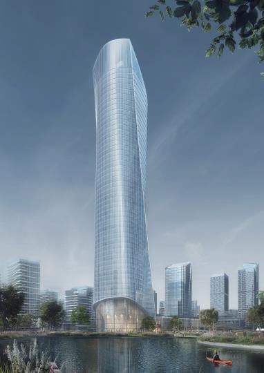 [济南]高层办公+低层商业建筑设计文本2018_14