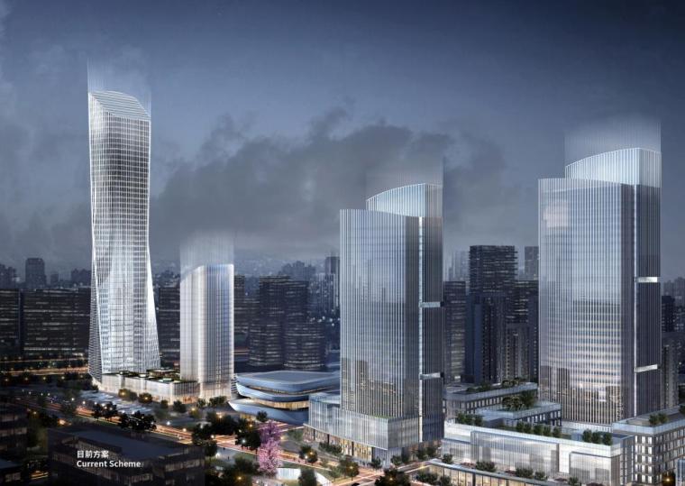 [济南]高层办公+低层商业建筑设计文本2018_12