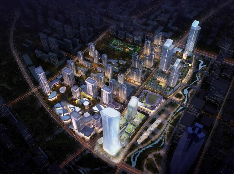 [济南]高层办公+低层商业建筑设计文本2018_3