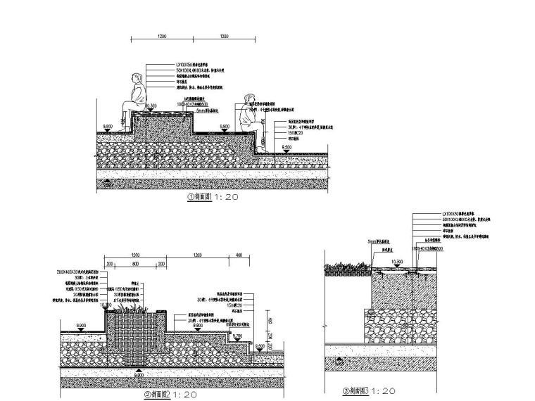 商业中心室外景观设计施工图2020年_2