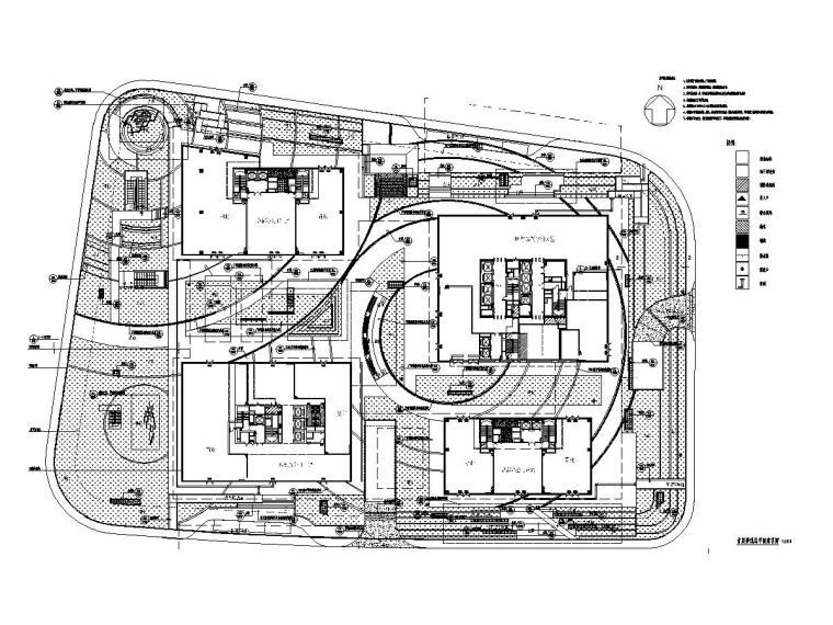 商业中心室外景观设计施工图2020年_1
